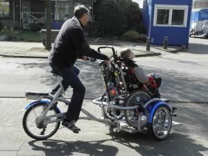 rolsteolfiets fietsen