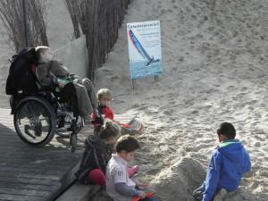 vakantie strand vriendjes